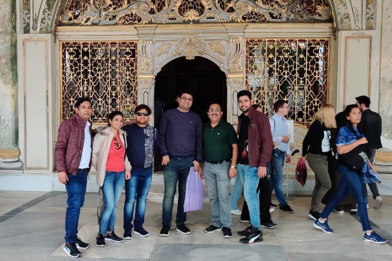 CRC Sales team enjoying trip to Turkey in Nov. 2019