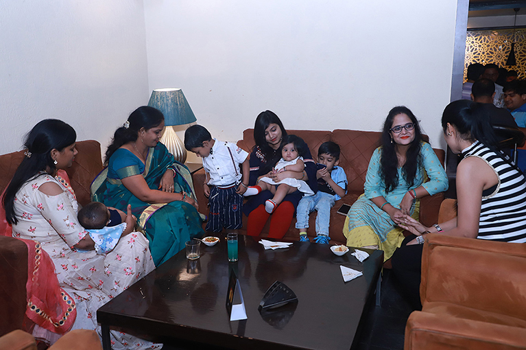 CRC employees family meet at Sector 15A club Noida