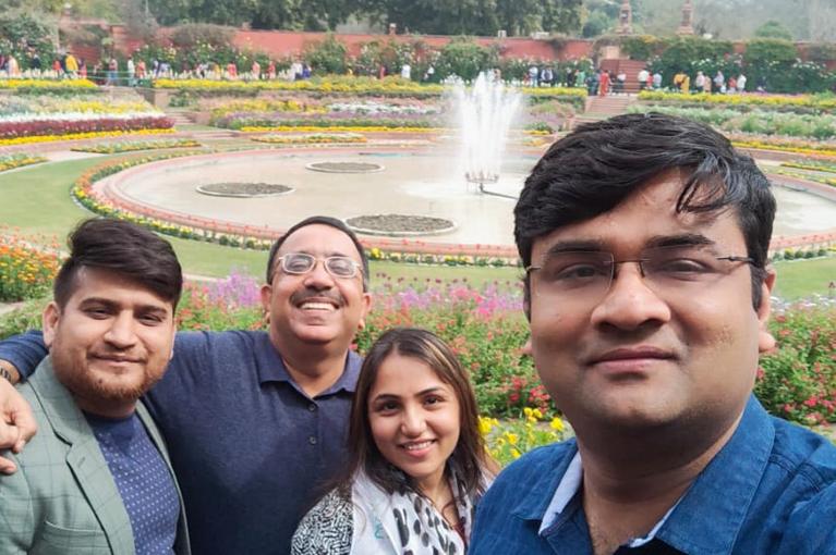CRC Team Visited Mugal Garden (Delhi)