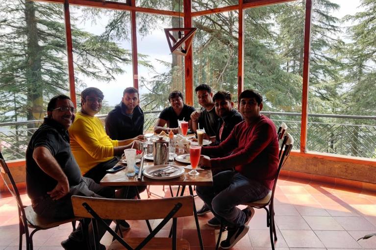 CRC Sales Team enjoying trip to Shimla in Sep. 2020