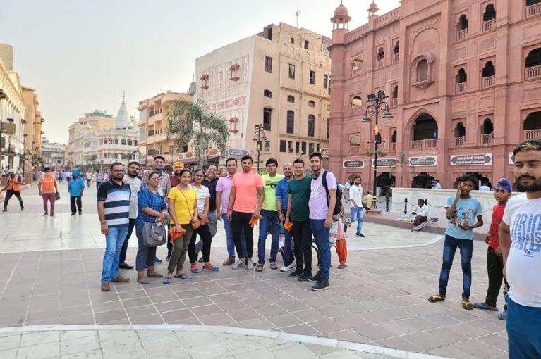 CRC Team enjoying trip to Amristar in Oct. 2020